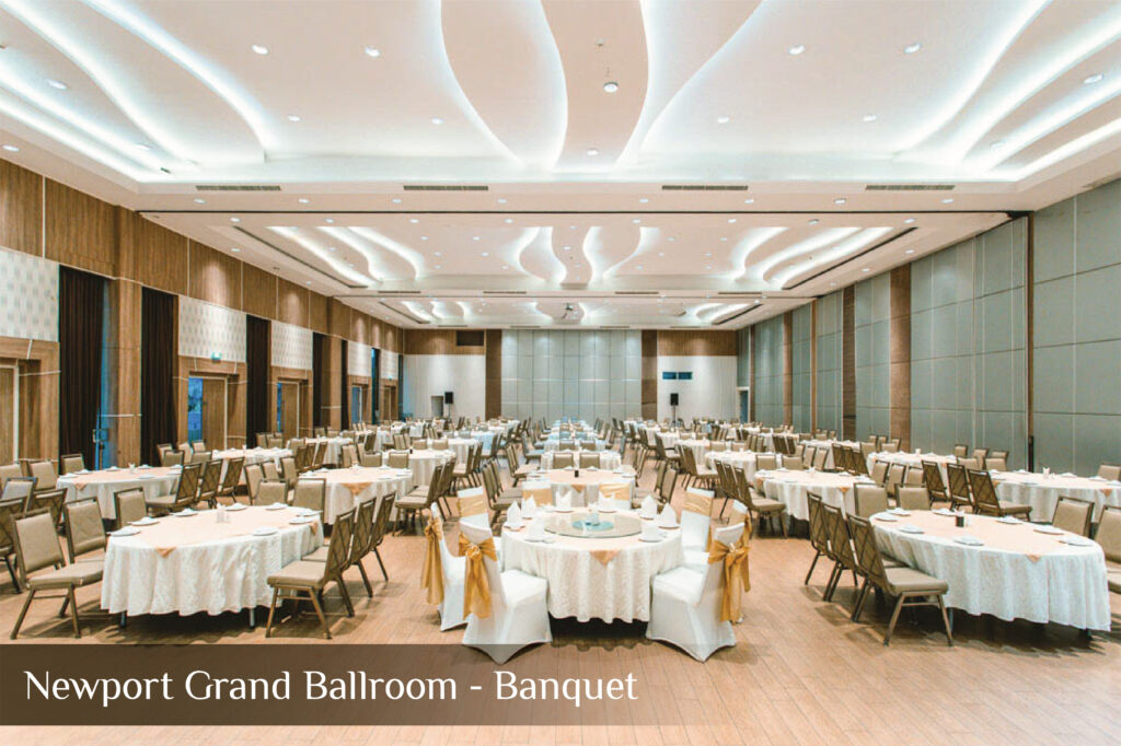 Newport Grand Ballroom - Banquet
