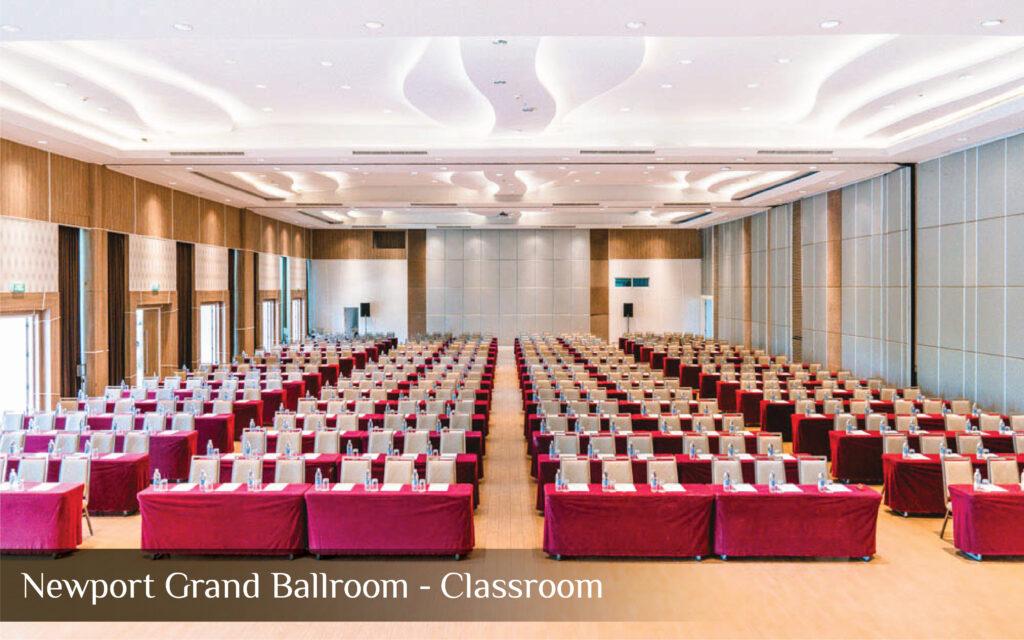 Newport Grand Ballroom - Classroom 1