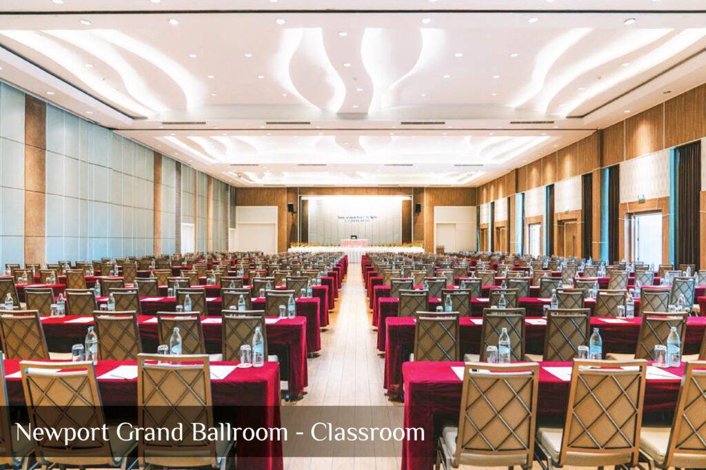 Newport Grand Ballroom - Classroom 2